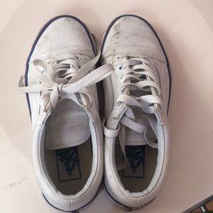 de1d1f2bd22e Vans Shoes - Vans Rainbow Foxing Striped Old Skools